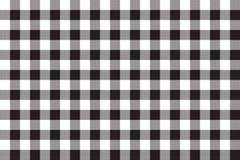 Black white checkerboard check seamless background Royalty Free Stock Photos