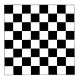 Black and white checkerboard Stock Image