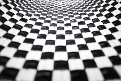Black and White Checkered Stock Image