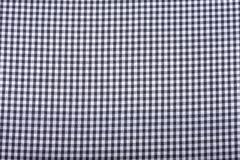 Black and white checkered fabric. Background or texture of black and white checkered fabric Royalty Free Stock Photos