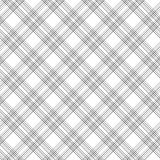 Black and white checkered geometric seamless pattern, vector Stock Photo