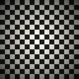 Black and white checkered texture Stock Photo