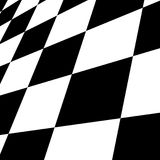Black and white chessboard Stock Photo