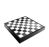 Black and white chessboard Royalty Free Stock Photos
