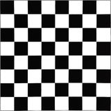 Black and white chessboard. Black and white pattern of chessboard Royalty Free Stock Images