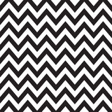 Black and White Chevron Stock Photography