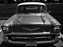 Black and White Chevy stock image