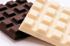 Black and white chocolate stock photos