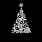 Black and White Christmas. + EPS10 Stock Images