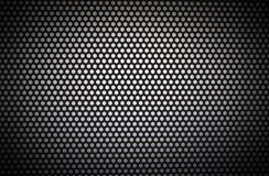 Black-white circle with white holes and dark vignetting. For backgrounds stock photo