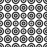 Black and white circles. Abstract background which depicts black and white circles Royalty Free Stock Photos