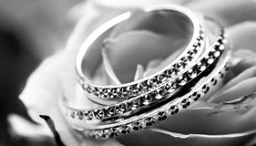 Black-and-white, Close-up, Jewellery Stock Photos