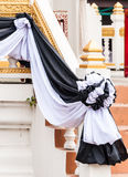 Black and white cloth Royalty Free Stock Image