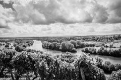 Black-and-white, Clouds, Environment Royalty Free Stock Image