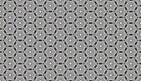Black and white color. Floral seamless pattern. royalty free stock images