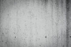 Black and white concrete wall dirty texture Stock Photography