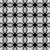 Black and white contemporany cross pattern Royalty Free Stock Image