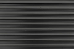 Black and white Corrugated metal texture surface or galvanize steel background Stock Images