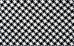 Black and White Cotton Texture. Stock Photography