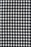 Black and White Cotton Texture. Royalty Free Stock Image
