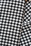 Black and White Cotton Texture. Royalty Free Stock Photos