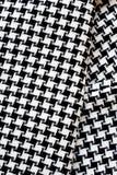 Black and White Cotton Texture. Royalty Free Stock Photos