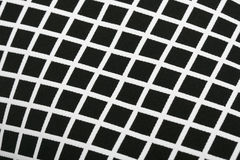 Black and White Cotton Texture Pattern Stock Photo