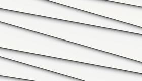 Black and white crisp clean asymmetrical uneven lines angles abstract background wallpaper illustration. High resolution computer generated vector abstract royalty free illustration