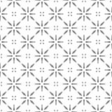 Black and white cross seamless pattern Stock Photography