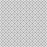 Black and white cross seamless pattern Royalty Free Stock Images