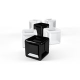 Black and white cubes Stock Photography