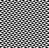 Black and white cubes pattern seamless background vector. royalty free illustration