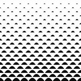 Black white curved shape pattern background Stock Photos