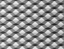 Black white 3D creative pattern Royalty Free Stock Photo