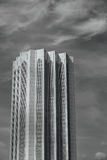 Black and white Dayabumi Complex building in the morning in Kuala Lumpur, Malaysia Stock Photos
