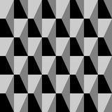 Black and white decorative wall. Interior tiles. Stock Images