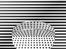 Black and white design. / pattern / shapes Royalty Free Stock Image