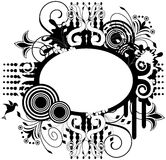 Black and White Design Element Royalty Free Stock Image