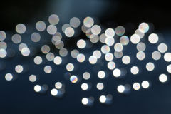 Black and white dew drop bokeh background Stock Photos