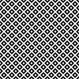 Black and White Diagonal Squares Tiles Pattern Repeat Background Royalty Free Stock Photos