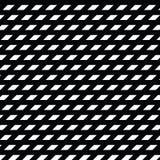 Black and white diamond shape modern geometric pattern Royalty Free Stock Photography