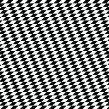 Black and white diamond shape modern geometric pattern Royalty Free Stock Photo