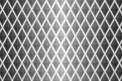 Black and white diamond shaped quadrangle Stock Images