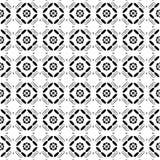Black and white diamond-shaped tiles royalty free illustration