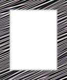 Black and white digital frame Royalty Free Stock Photo