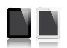 Black and White Digital Tablet Stock Photography