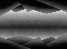 Black and white dimension picture background illustration Royalty Free Stock Photography