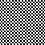 Black and white distort checkered abstract background. Vector Stock Image