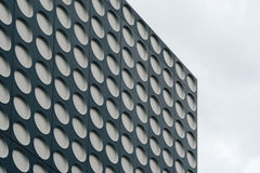 Black and white doted modern architecture Royalty Free Stock Photo