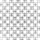 Black and white dots background in Halftone design. Vector illustration. Stock Photos